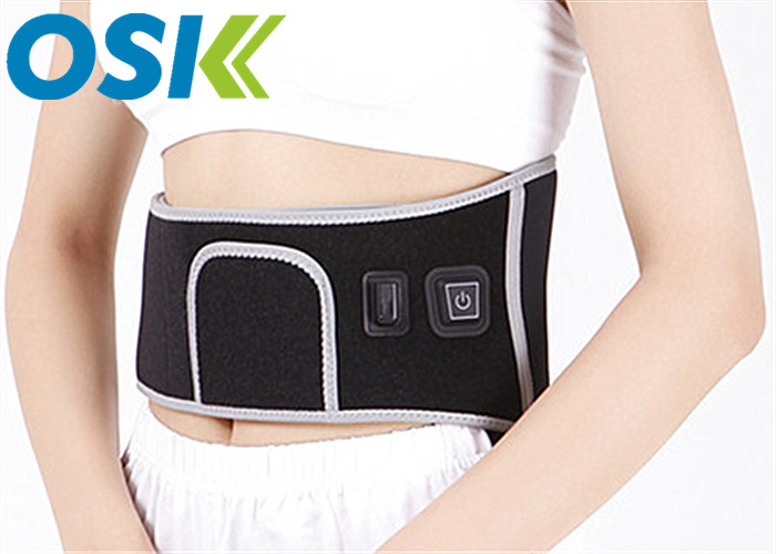 Adjustable Lumbar Back Brace For Waist Slimming , Muscle Strain Waist Back Support